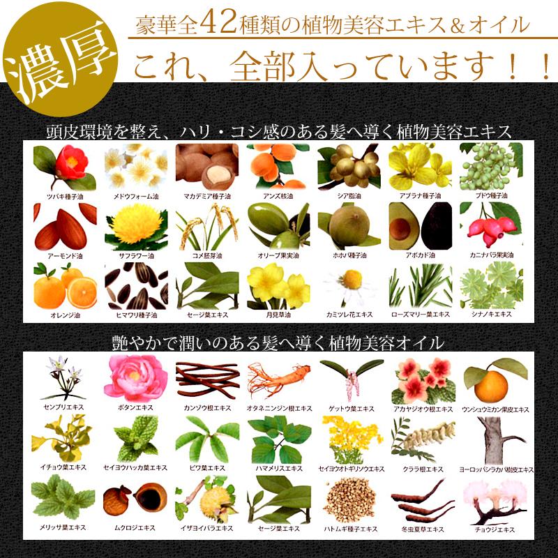 R-21エクストラエディションは濃厚42種類の植物美容エキス&オイル